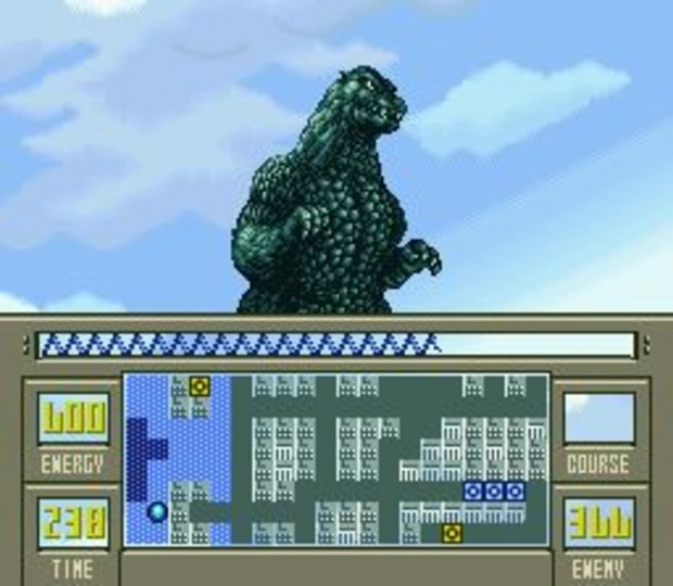Super Godzilla Gameplay