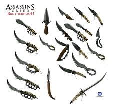 assassins creed weapons