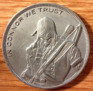 Assassin's Creed 3 Commemorative Coin