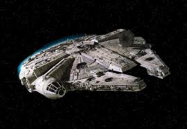 It's the ship that made the Kessel Run in less than 12 parsecs.  Which are units of distance not time.