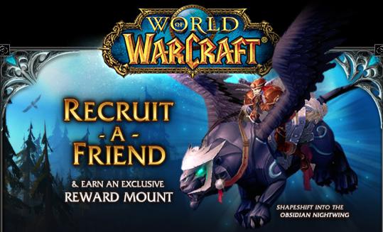 World of Warcraft - Recruit a Friend