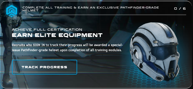 Mass Effect Andromeda Initiative Helmet Exclusive