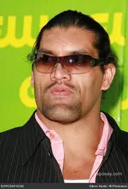 the great khali close up