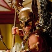 Michael Shanks as Hawkman in Smallville
