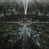 Underground city from the Matrix Zion