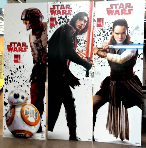 Po, Kaylo, Rae Find The Force scan from Force Friday 2017