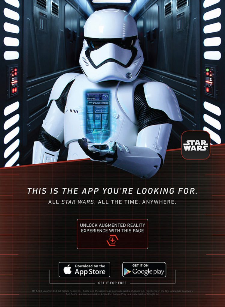 Star Wars Augmented Reality Posters