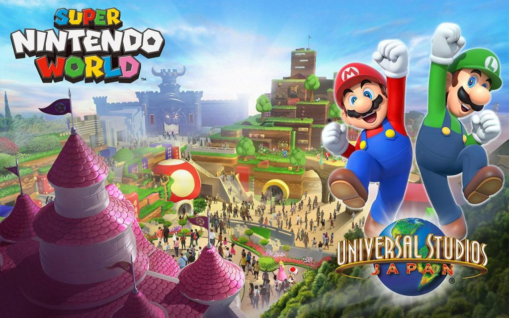 Super Mario World Coming To Universal Theme Parks 2019