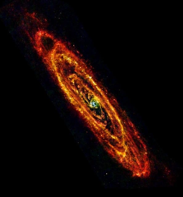 The Andromeda Galaxy - Hershel Space Observatory
