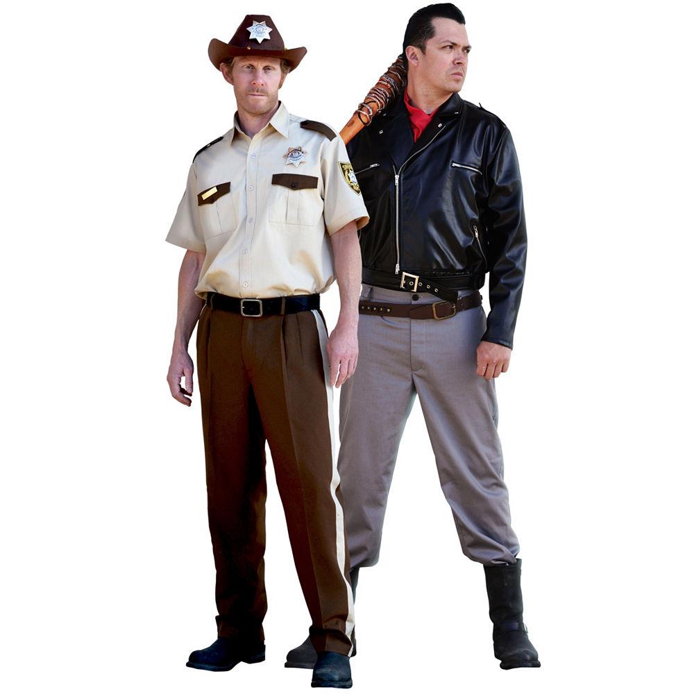Walking Dead's Rick & Negan @ Party City