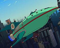 Futurama Planet Express Spaceship