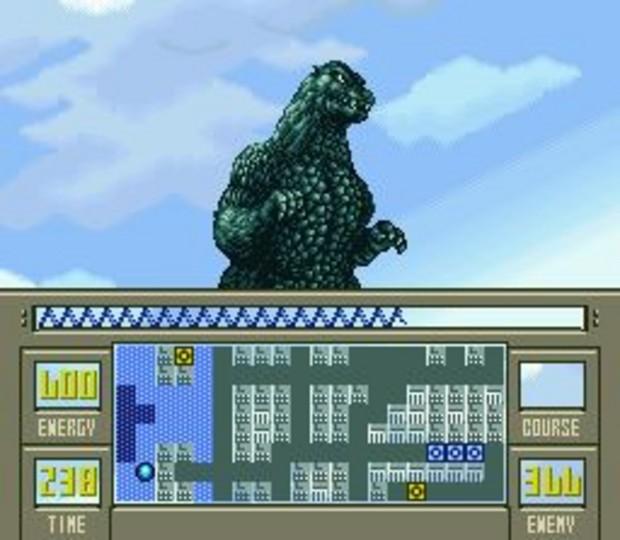 Super Godzilla Gameplay