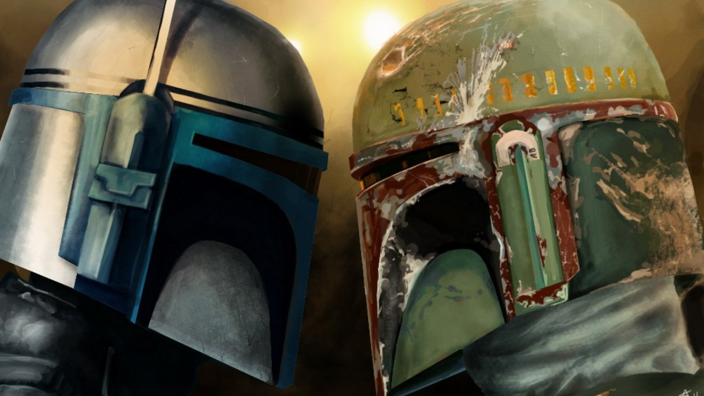 Boba and Jango