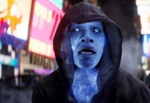 Jamie Foxx's Electro in the upcoming Amazing Spider-Man sequel.