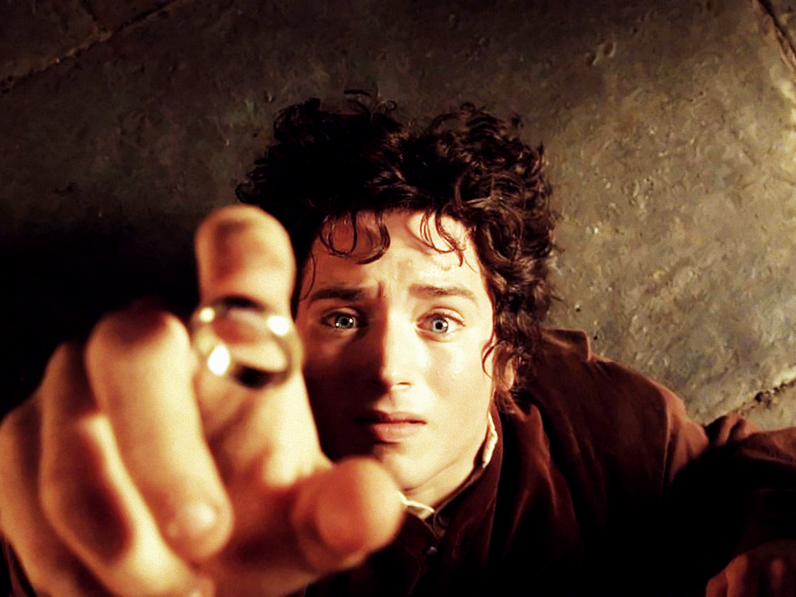 april mordor throwback rings thursday and ring the land frodo