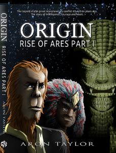 Origin Rise of Ares Part 1 Cover Image