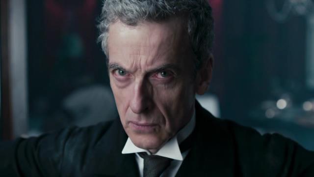Twelfth Doctor Glare