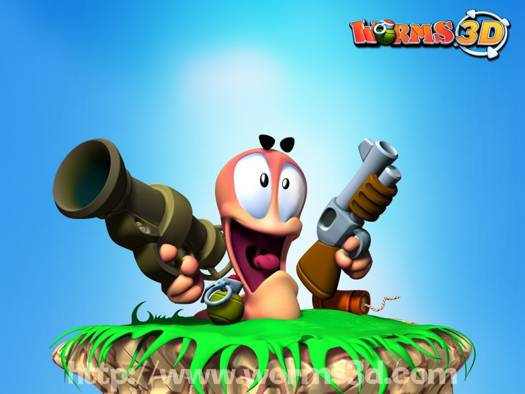 Old Video Game Reviews: Worms 3D - Sci-Fi BloggersSci-Fi Bloggers