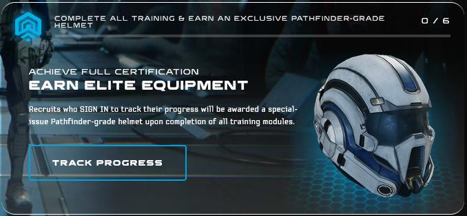 Mass Effect Andromeda Initiative Helmet Exclusive