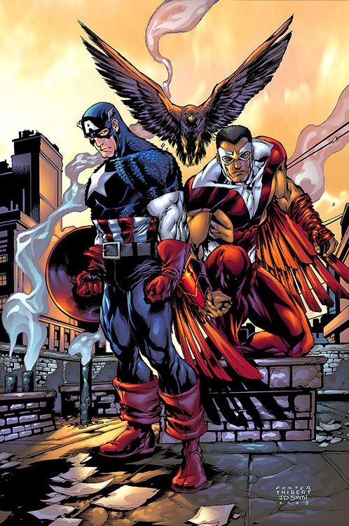 cap and falcon
