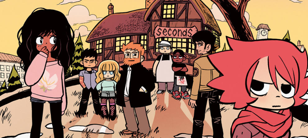 The cast of Seconds, with Katie in the foreground.