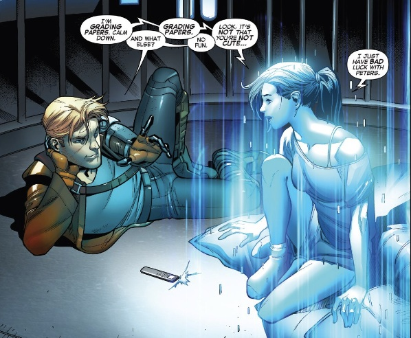 The most interesting part of this issue was when Kitty was in the panel.