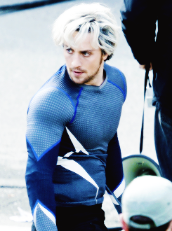 Pietro Maximoff as played by Aaron Taylor Johnson. (Marvel Studios)