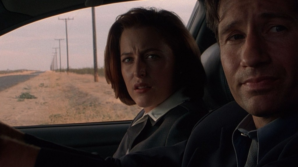 Scully is yet again not convinced that relying on Mulder's instincts is the best course of action.