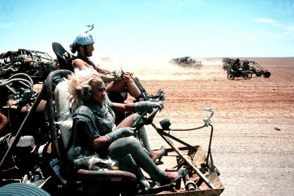 It wouldn't be Mad Max without reckless driving.