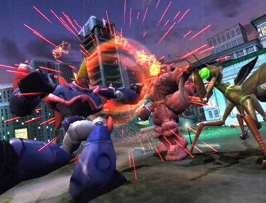Monster brawl in War of the Monsters