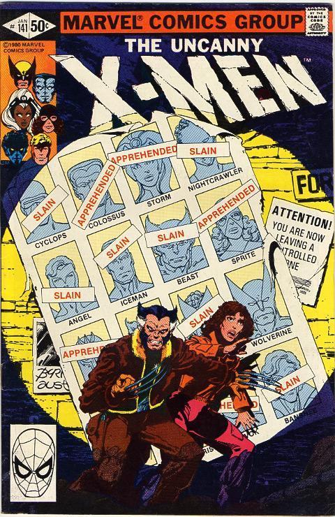 X-Men Days of Future Past Comic